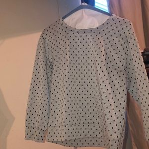 Sweaters - nordstrom Polka Dot XS designer pullover sweater